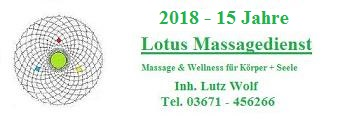 Lotus Massagedienst Saalfeld